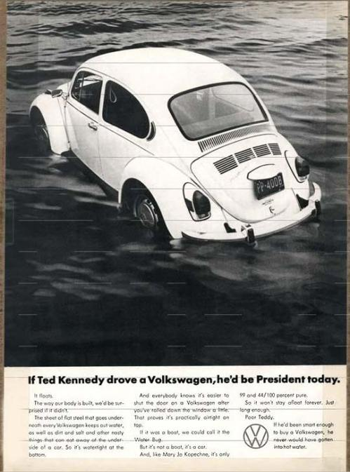 Joe Kennedy drives back to New York