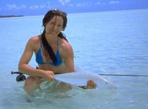 Who needs money, Andy, when we can live on love and bonefish?