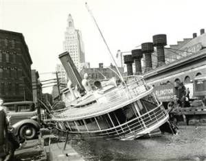 Greenwich Time booze cruise, 1938