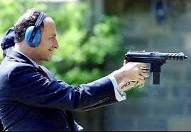Ah, Chuck, I believe that's a large capacity magazine in that gun of yours