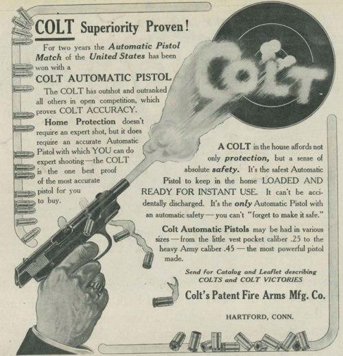 colt ad 1921