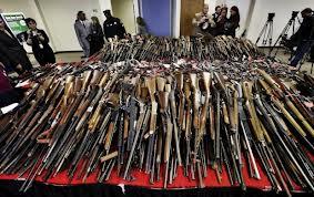 Greenwich Democrat Headquarters, Gun Surrender day