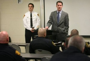 Jim Himes turns us over to the care of Officer Friendly