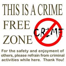 No crime zone