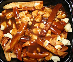 Anyone consider it might just be attributable to a bad case of poutine poisoning?