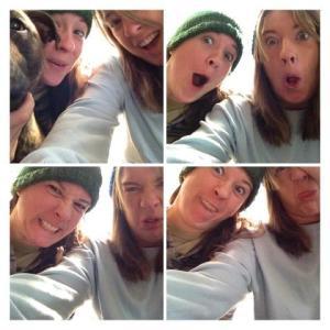 Kat and Sarah