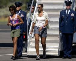 Michelle Air Force One