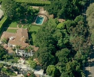 """Al Gore's newest home, Casa """"Do Unto Others What I Would Not Have Done Unto Me"""", Montecito CA"""