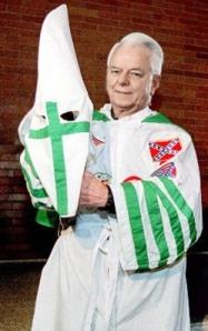 Senator Robert KKK Byrd (D., W.Va), dressed for the MLK celebration