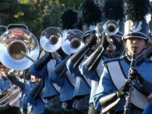 Lincoln High School Marching Band at the Rose Bowl