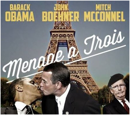 Obama and friends