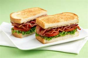 Could be worse: they might have have been made part of the BLT/Sotheyby's sandwich