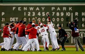 Red Sox win, 2013