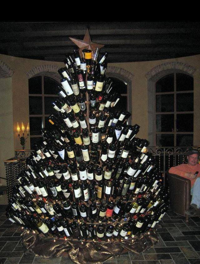 Straight from the Irish Duty Free shop, a typical Irish Christmas tree |  For What It's Worth