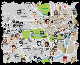 Rogues Hill celebrity felons map