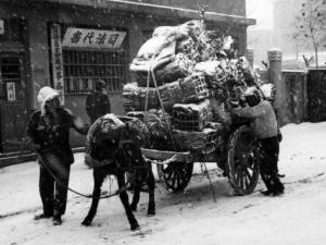 Fleeing the communists, S. Korea, 1951