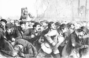 Bank run, Panic of 1873