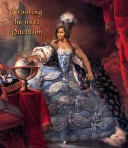 Michelle Antoinette ponders where to spend her February vacation