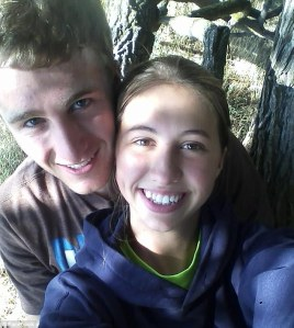 Flushed with success - Mikala Earley and her idiot boyfriend celebrate saving $90 a year on TP