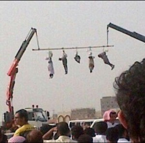 Hanging around in Saudi Arabia