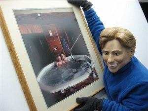 Tina Pray deassecioning family's art collection