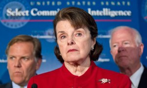 And Dianne Feinstein cheers