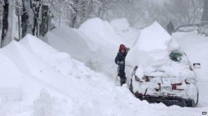 Great Britain blizzard, 2014