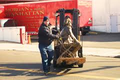 Moving day (eventually) for Morgan Manhattan