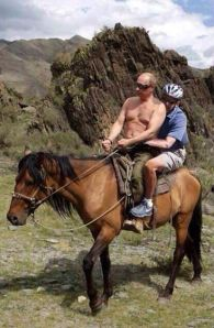 You behave, Vladimir, or I'll tickle your ribs - I will, I will!