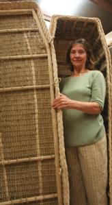 Organic sea grass coffin - make a difference!