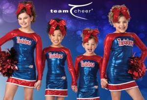 Woody Allen Cheerleader squad?
