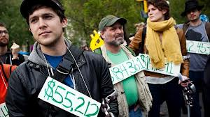 Yale grads protest repaying their loans
