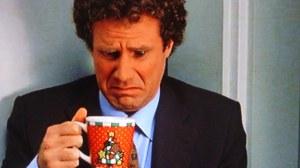 Joe spots repair bill in his cup