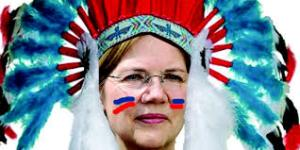 """""""I may be a fake Injun, but I'm a genuine Democrat"""" Elizabeth warren explains why she is entitled to wear feathers"""