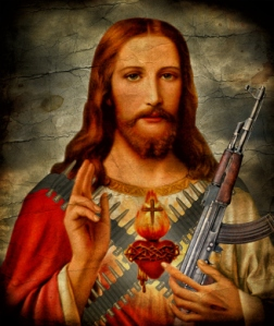 Praise the Lord and pass the ammunition