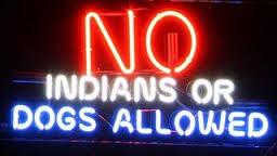 No Indians