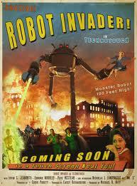 Robot invaders
