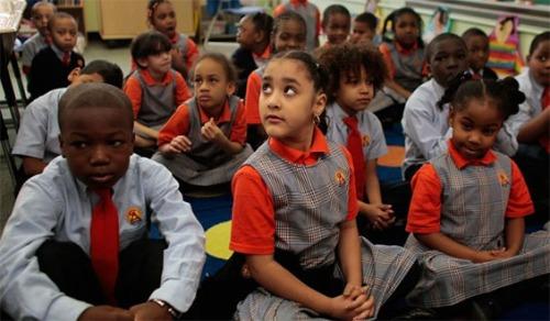 Harlem Success Academy students