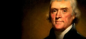 "Jefferson on bureaucrats: ""few die, none retire."""