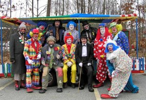 Kennedy Clown Parade assembles in Hyannis Port