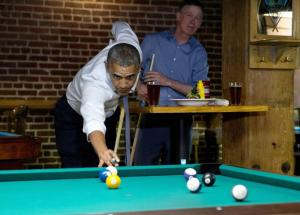 Playing pocket pool while the country burns