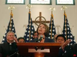 Nancy loves the little children, all the children of the world...