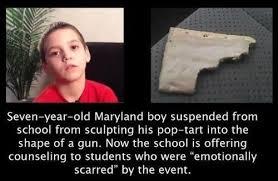 Pop-tart gun