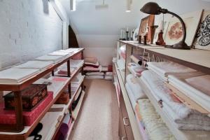 Wow, an arts supply closet!