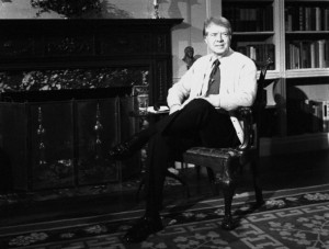 Lord Cardigan addresses the nation January, 1977