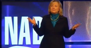 Hillary performs for National Automobile Dealers, $500,000