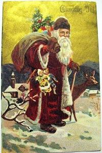 Julemanden er stadig kommer til byen