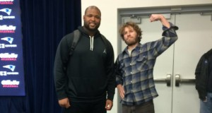 John and Marcus Cannon - John's the smaller guy, on the right