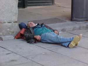 Chris waits for the market to awaken