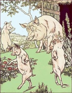 And so long, Three Little Pigs